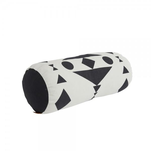 OYOY Cylinder cushion black