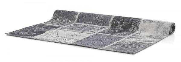 Teppich Patchwork grau 160x230