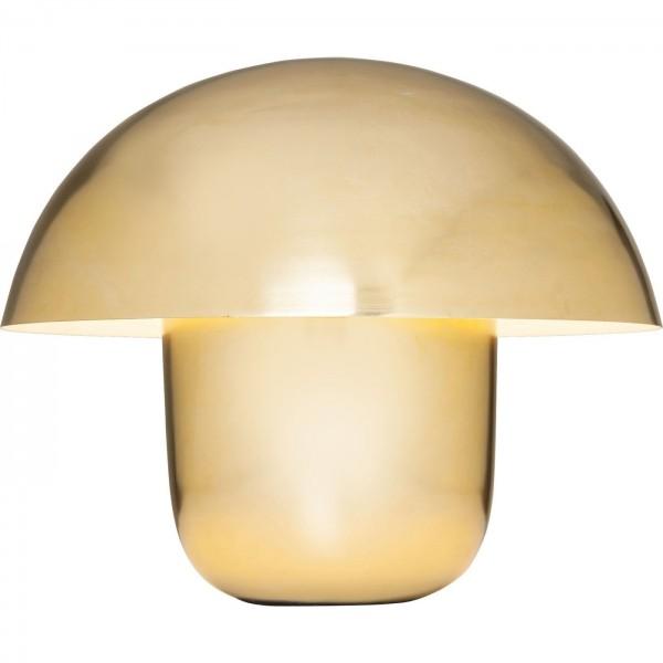 Tischleuchte Mushroom Brass